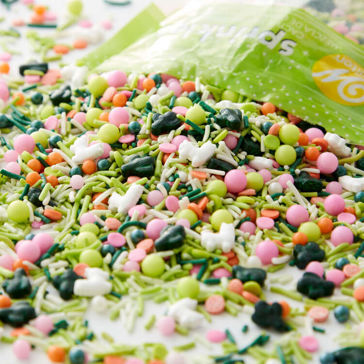 Cactus Party Sprinkles Mix, 10 oz.