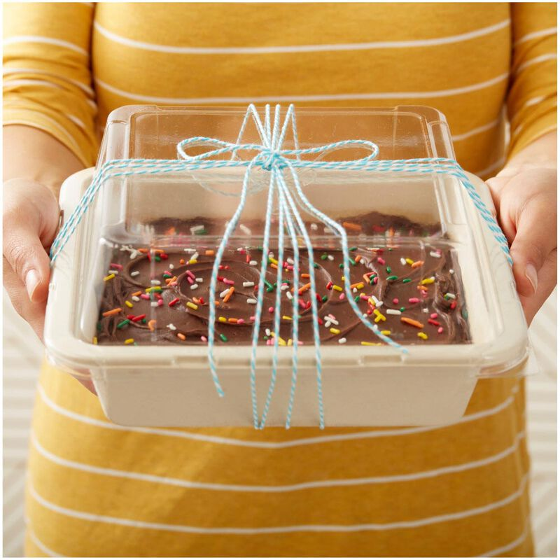 Disposable 8-Inch Square Baking Pans with Lids, 2-Count image number 6