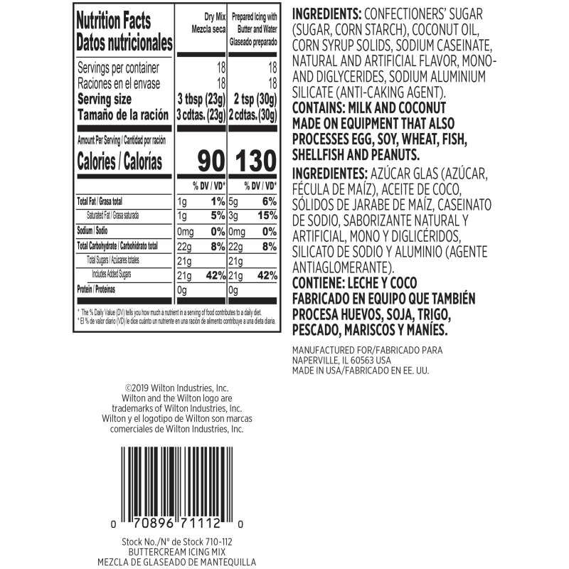 Buttercream Icing Mix, 14 oz. image number 1