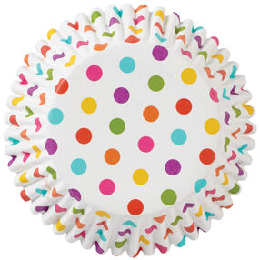 ColorCups Rainbow Dots Cupcake Liners