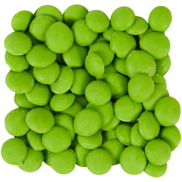 Bright Green Candy Melts Drizzle Pouch 2 oz