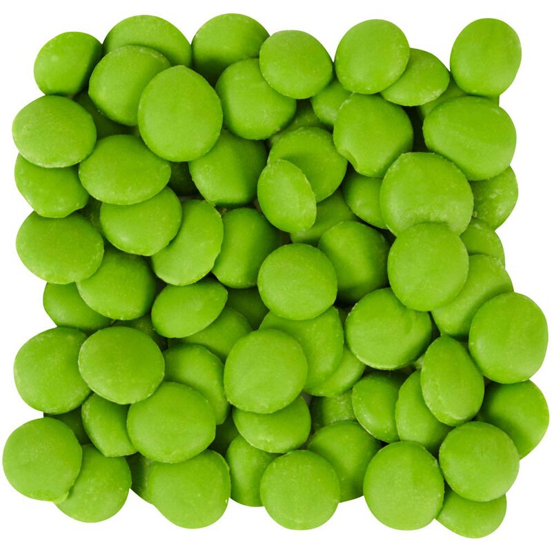 Bright Green Candy Melts Drizzle Pouch 2 oz image number 2