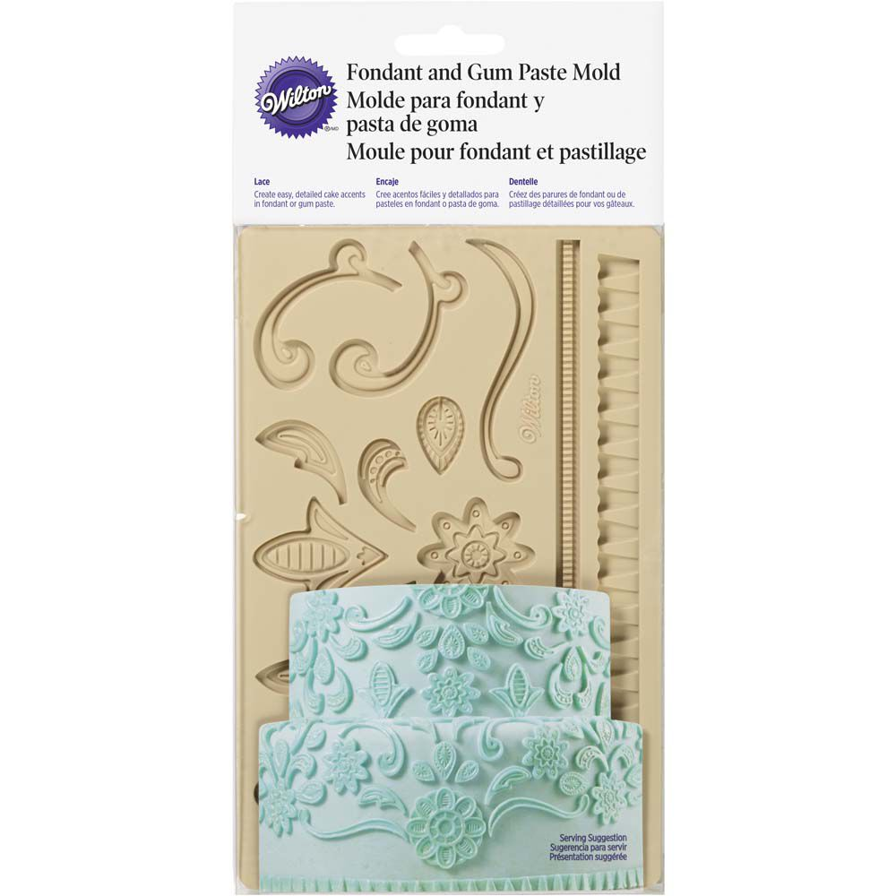 Lace Fondant Amp Gum Paste Mold Wilton