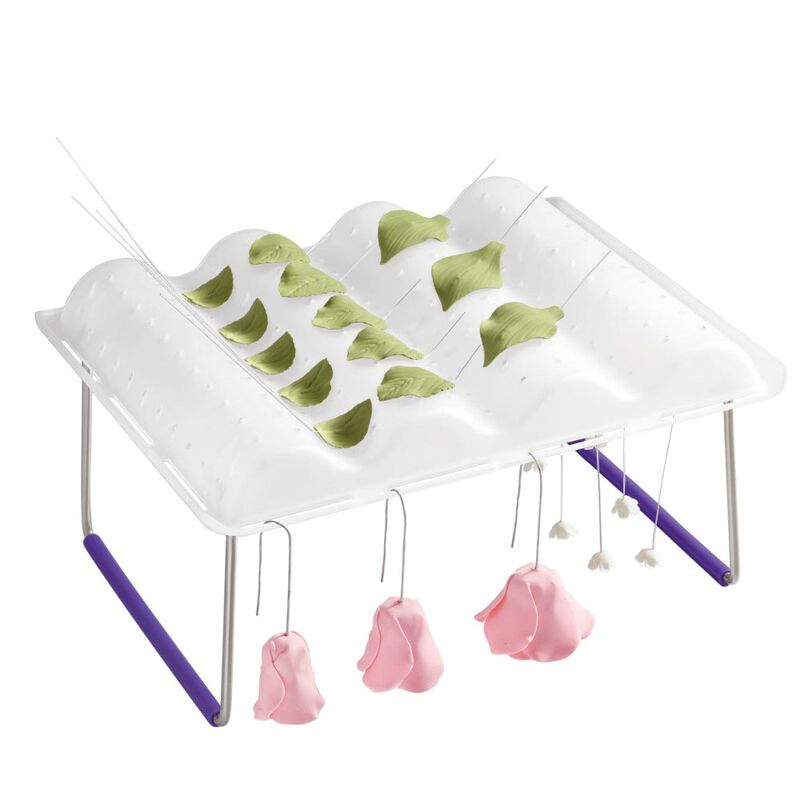 Flower Wave Fondant and Gum Paste Drying Rack - Cake Decorating Supplies image number 2