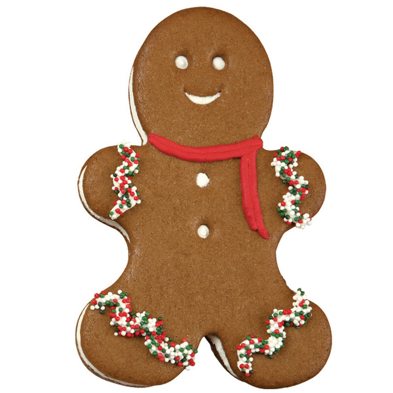 Here Comes The Gingerbread Boys Cookie image number 0