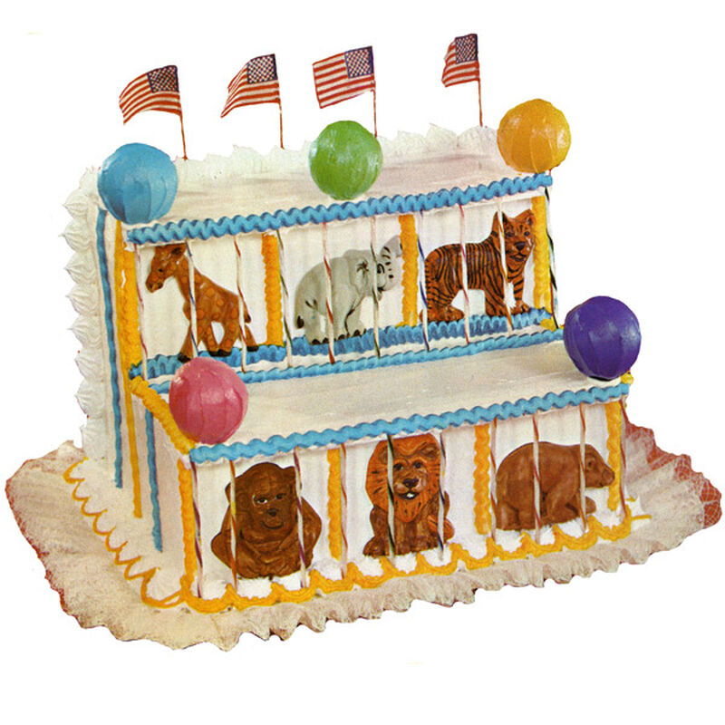 Animal Circus Cake image number 0