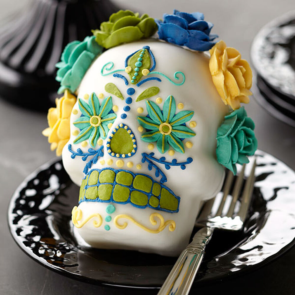 Day Of The Dead Cake Recipe Mini Day Of The Dead Cake