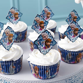 Fun Frozen Cupcakes
