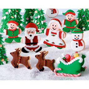 Image Result For Standing Santa Character Cake