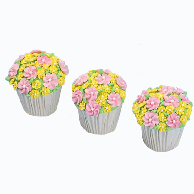 Field of Flowers King Size Cupcakes image number 0