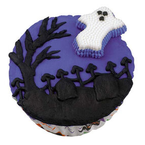 Ghostly Graveyard Greetings Cupcakes