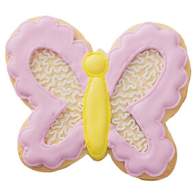 Scalloped Edge Butterfly Cookies