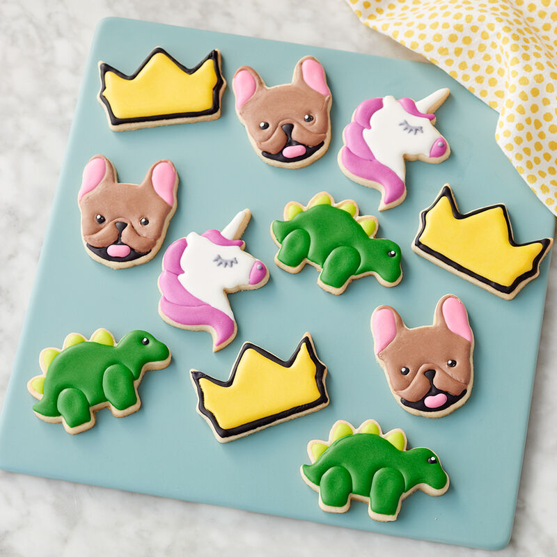 Rosanna Pansino A Walk on the Wild Side Animal Cookies image number 1