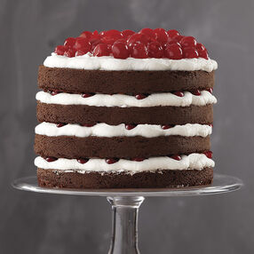 Tall Black Forest Cake