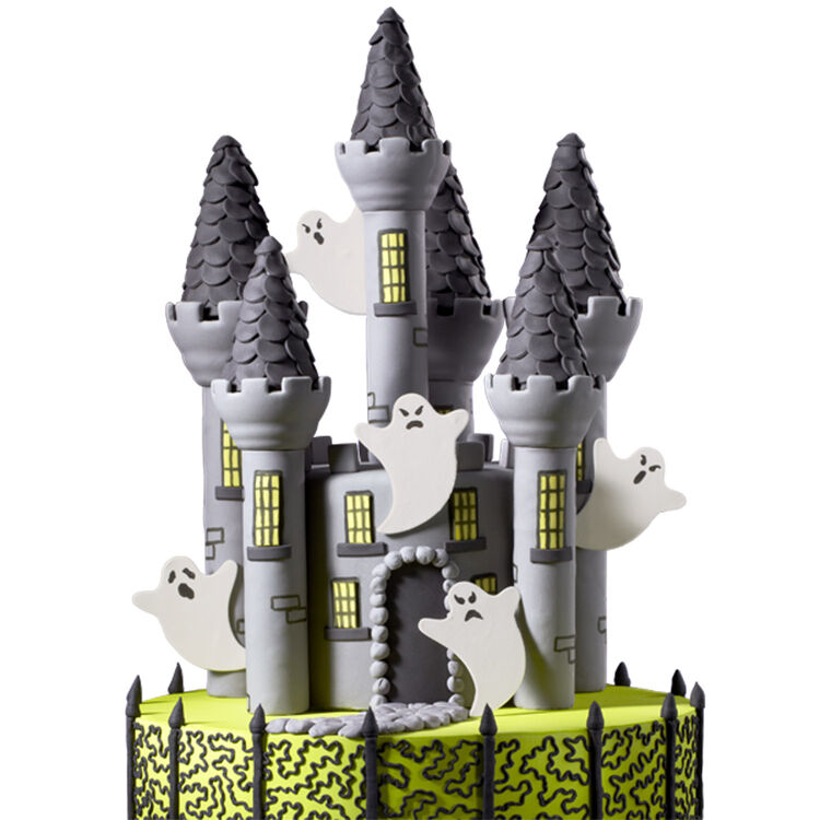 Creepy Castle Cake