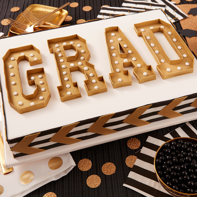 GRAD Marquee Cake image number 0