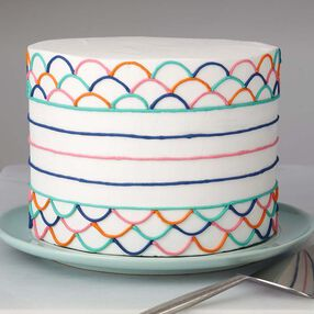 Wilton Colorfully Simple Cake