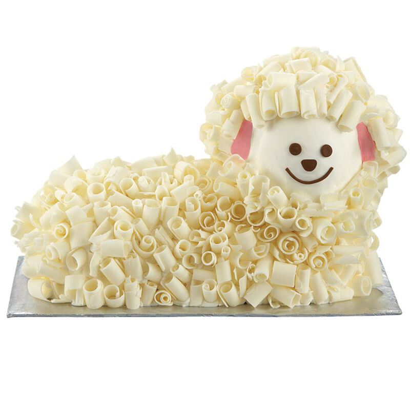 Candy Curls Lamb Cake image number 0