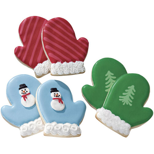 Cozy Mittens Roll Out Cookies