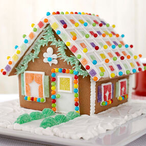 Welcome to Cute Gingerbread House #1
