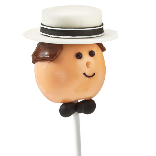 Straw Hat Sport Cake Pop