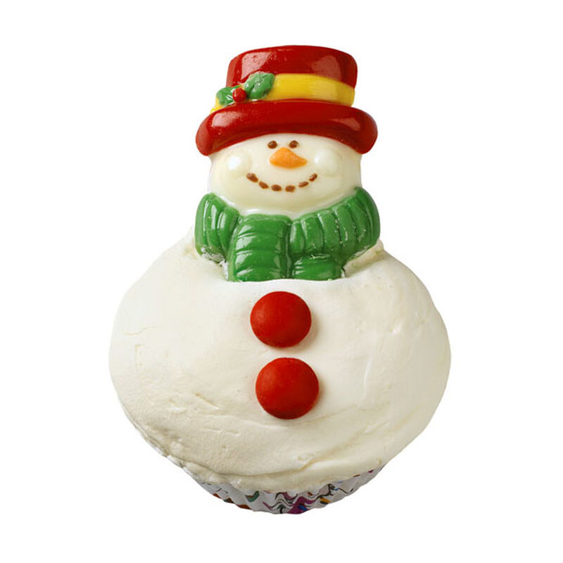 Snackable Snowman Cupcakes image number 0