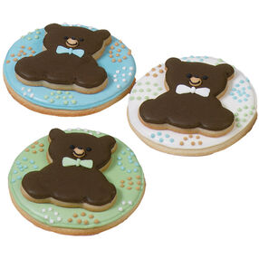 Bow-Tie Teddy Bear Cookies