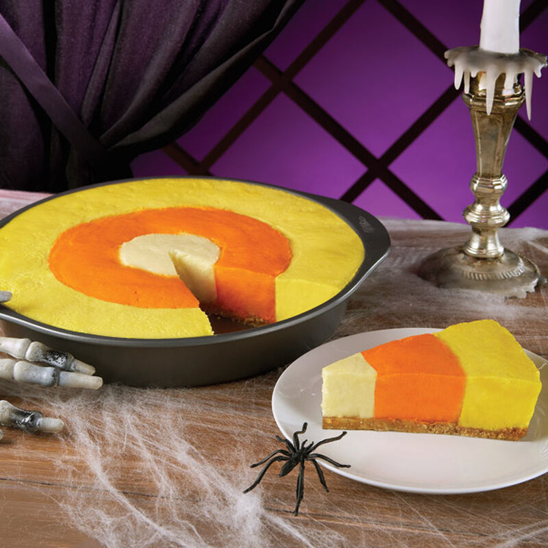 Halloween Candy Corn Cheesecake image number 0