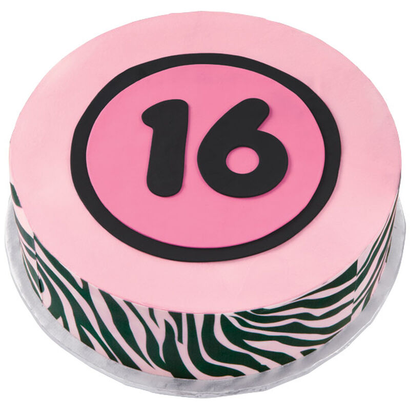Just a Bit Wild at 16 Cake image number 0
