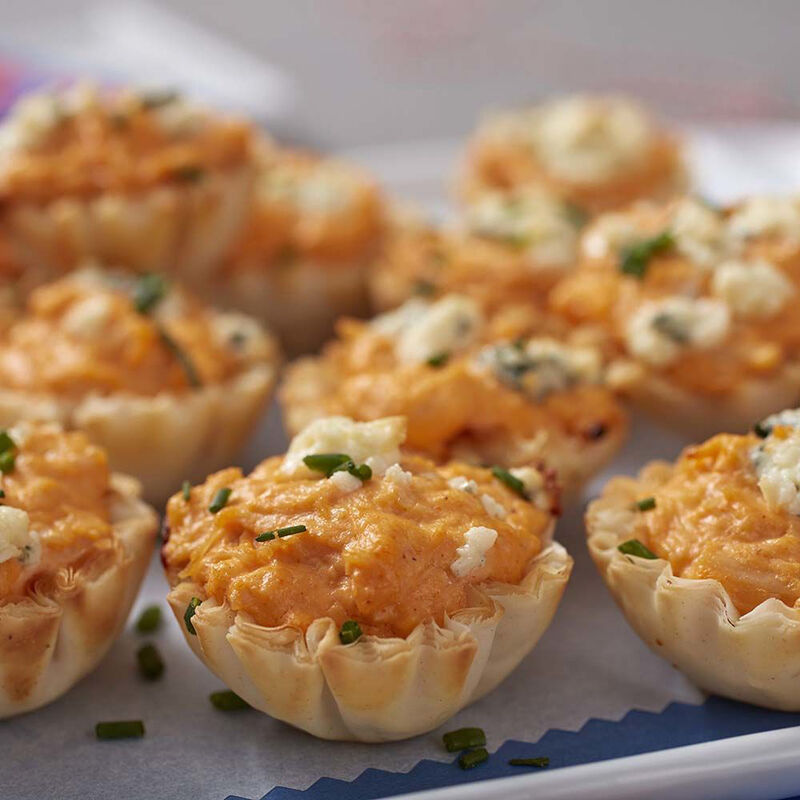 Buffalo Chicken Bites and Mini Apple Pies Recipe image number 1