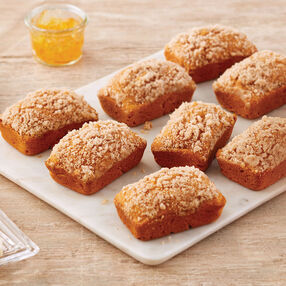 Pumpkin Crumble Mini Loaves Recipe