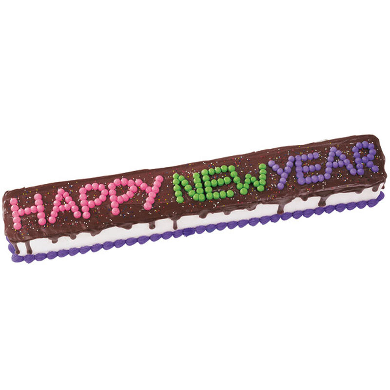 Banner Year New Year's Cake image number 0