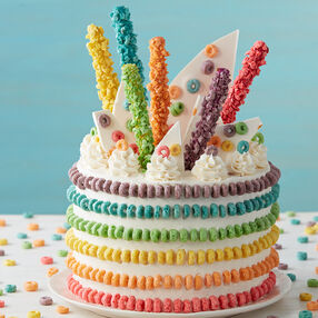 Kelloggrsquos Froot Loops Cake