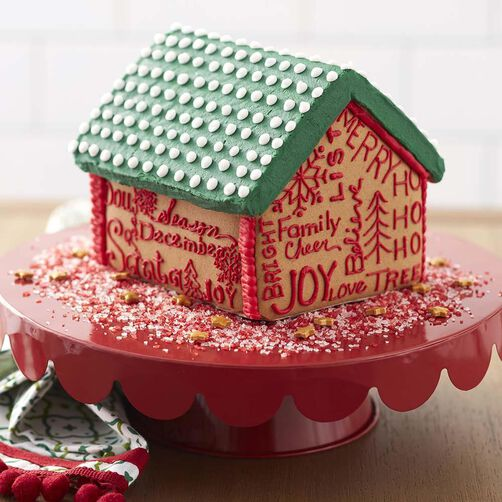 Written On The Walls Color Right Gingerbread House
