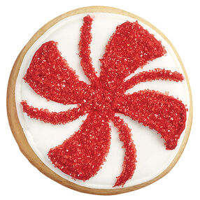 Best of the Season Spiral Candy Cookies