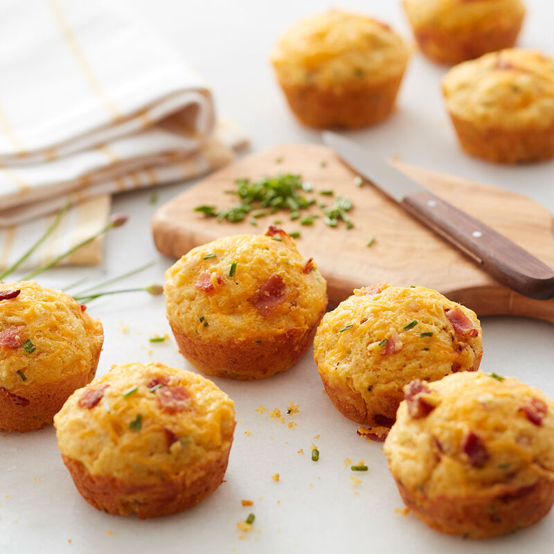 Bacon Cheddar Corn Muffins image number 0