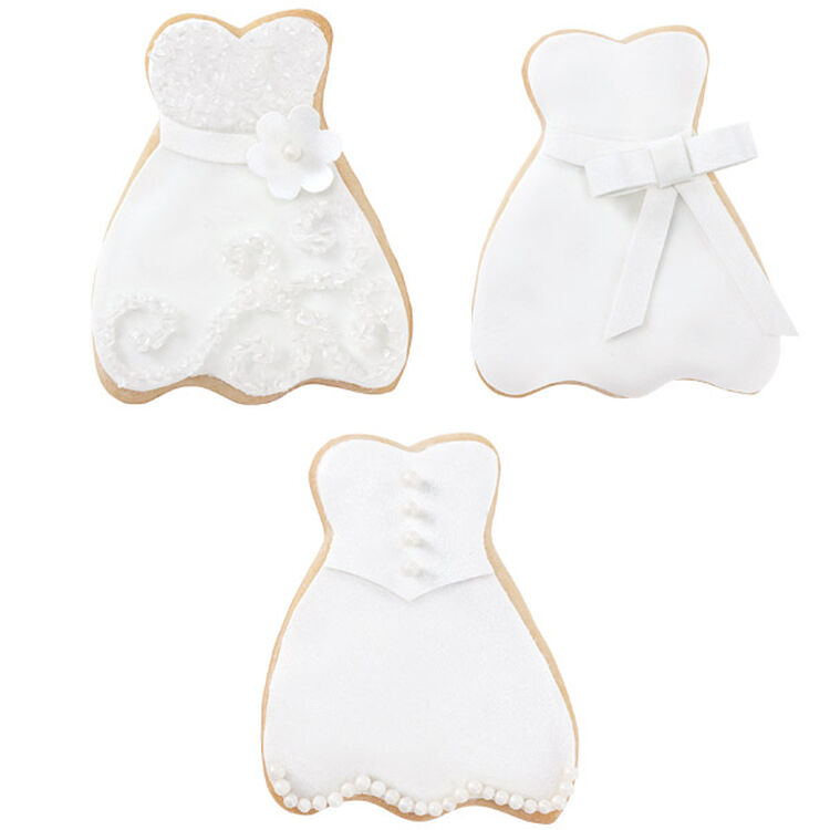 Wedding Dress Cookies!