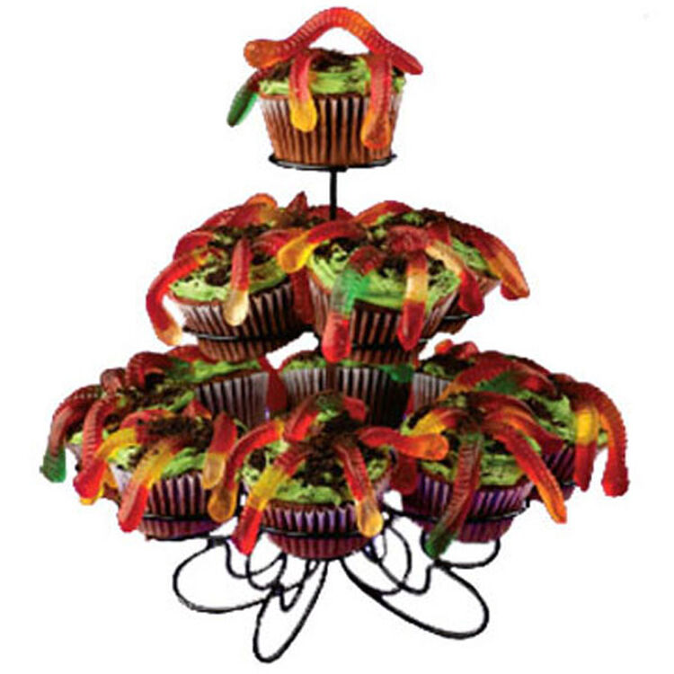 Squirmy Worm Cupcakes