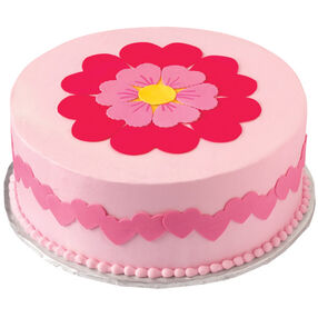 Blossoming Hearts Cake