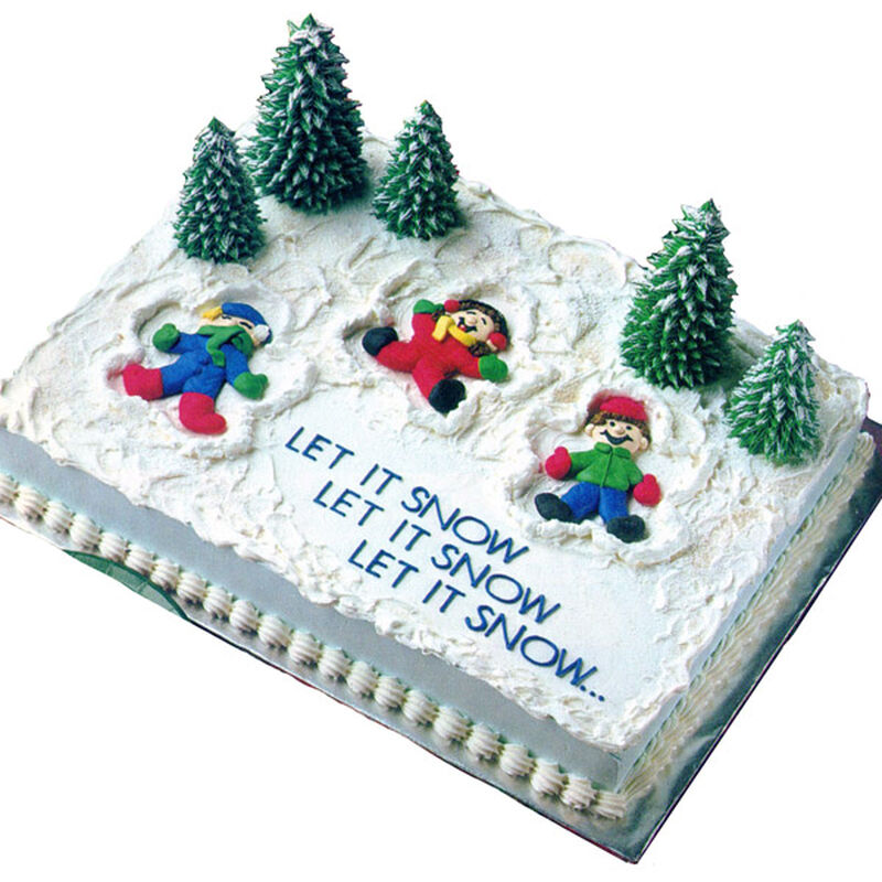 Snow Much Fun! Cake image number 0