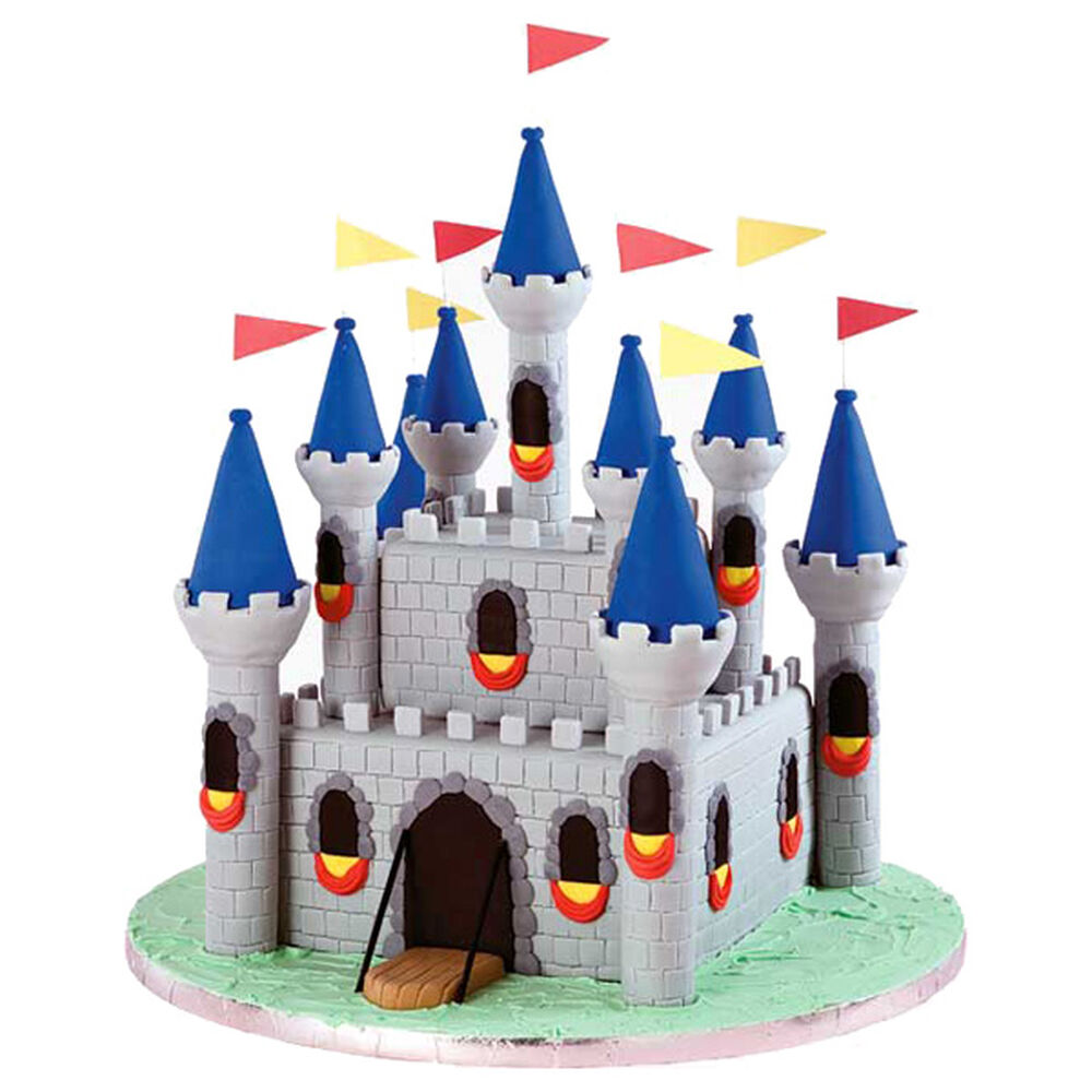 Medieval Fortress Castle Cake Wilton