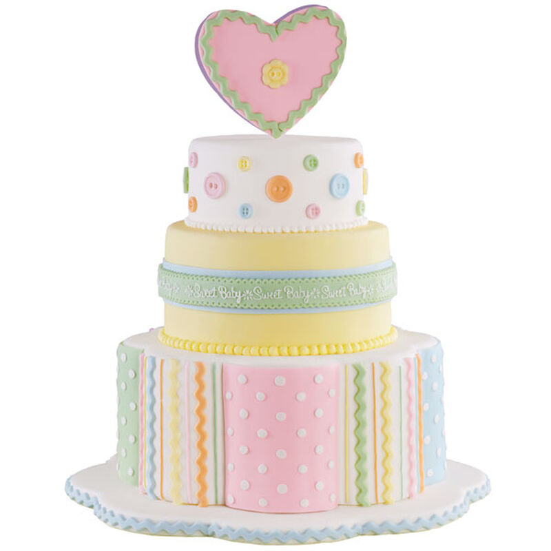 Cute As a Button! Cake image number 0