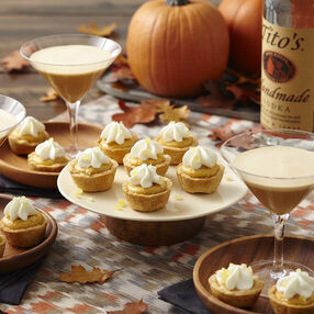Mini Ginger Pumpkin Pies Recipe
