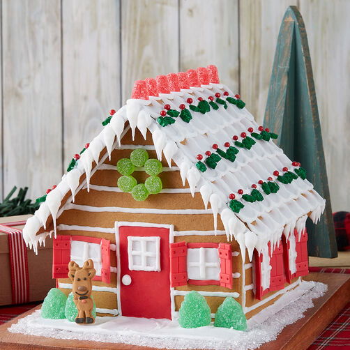Nature Lover's Gingerbread Cabin #2