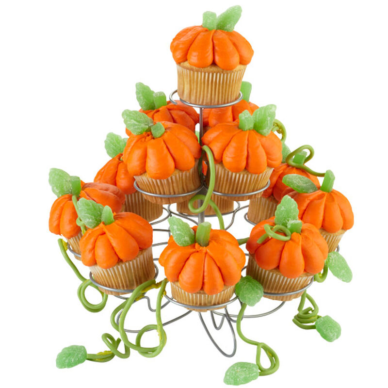 Towering Pumpkin Patch Cupcakes image number 0