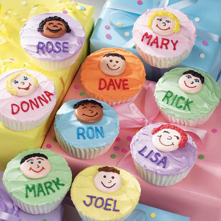 Family Forever Cupcakes