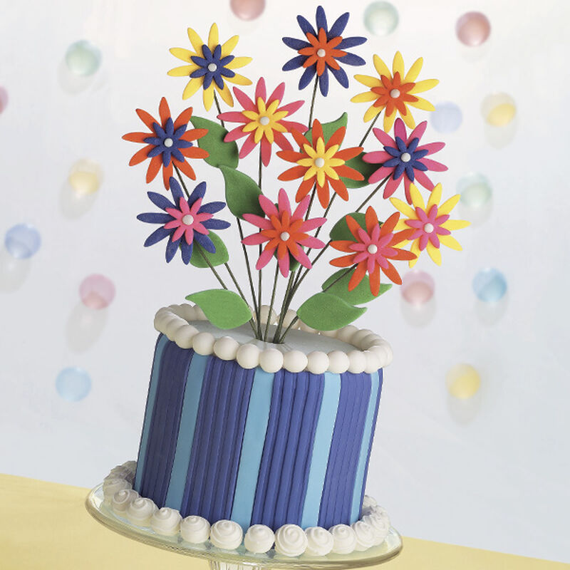 Daisies Go Crazy Cake image number 0