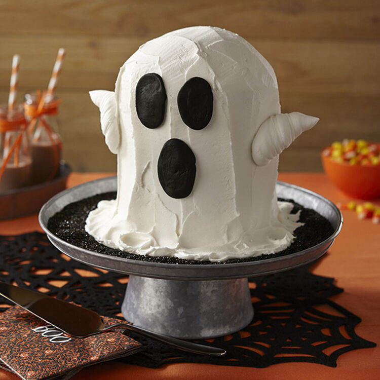 Spooky Ghost Cake