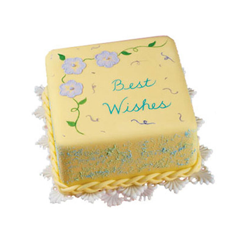 Best Wishes Squared Cake image number 0