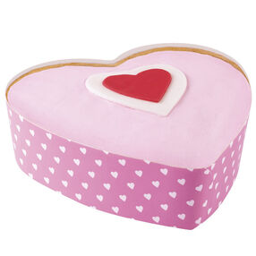 Hearts-A-Thumpin' Cakes